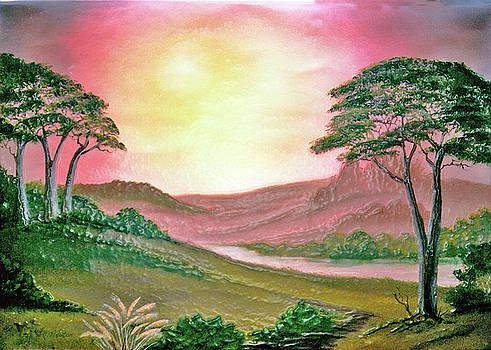 Dee Flouton - Oriental Fantasy Landscape