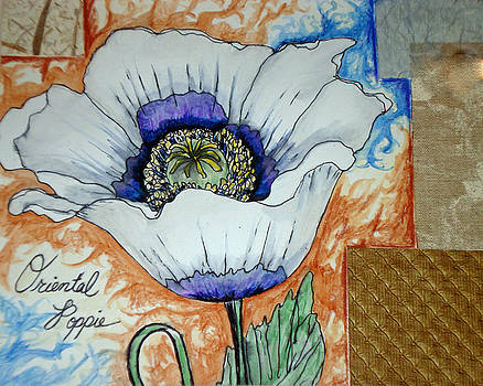 Oriental Poppie by Jo Anna McGinnis