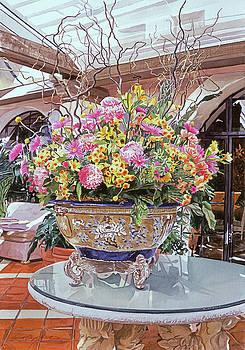 Oriental Urn - Hotel Biltmore by David Lloyd Glover