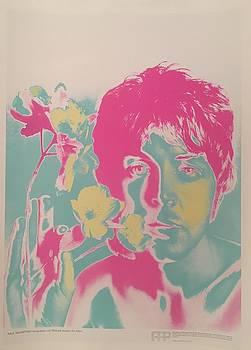 Original 1967 Richard Avedon Poster of Paul McCartney by Richard Avedon