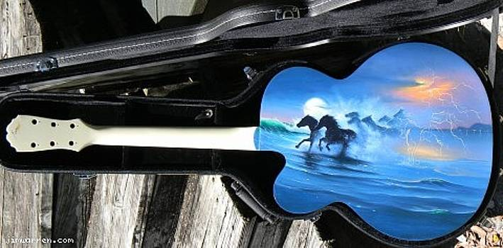Original Commissioned Guitar by Jim Warren