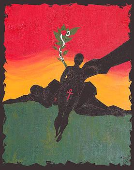 Original Genesis 2 22 by Melvin Robinson