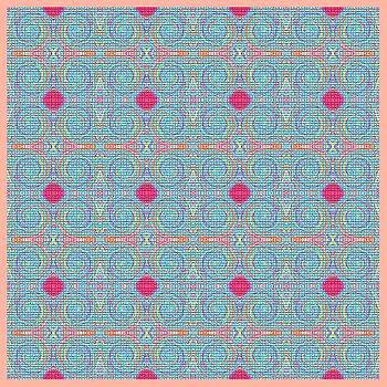 Original Light Blue Patterns by Mohammad Safavi naini