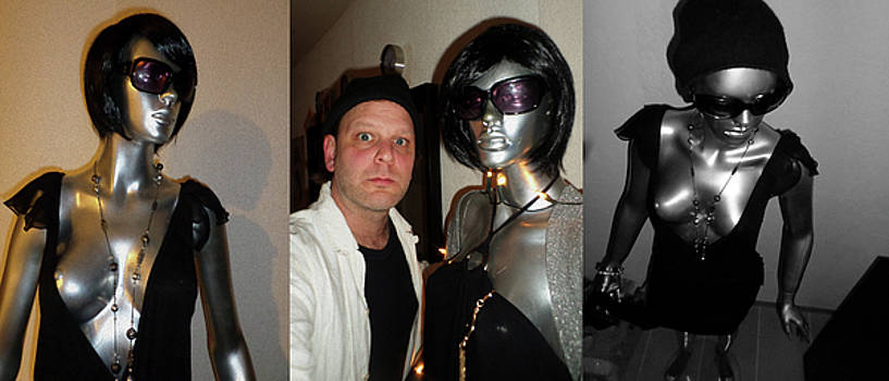 Original Mannequin Lifelike Statue from 1970 Unique for sale by Sir Josef - Social Critic -  Maha Art