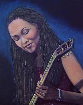 Original oil painting of Debra Coleman by Gayle Bell