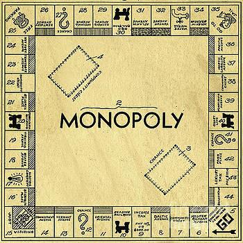 Edward Fielding - Original Patent For Monopoly Board Game Square