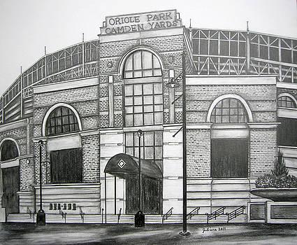 Oriole Park Camden Yards by Juliana Dube
