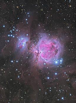 Orion Nebula by Dennis Sprinkle