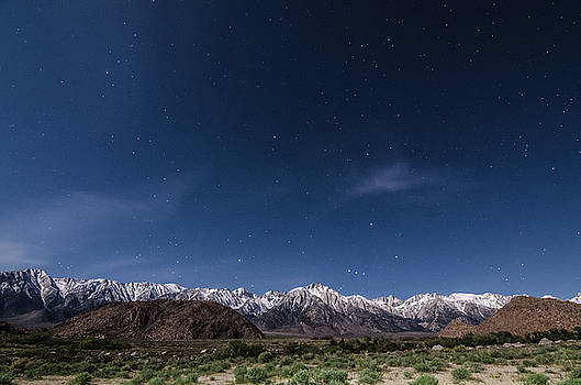 Margaret Pitcher - Orion Over Mt. Whitney