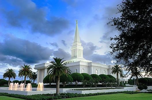 Orlando LDS Temple by Laurent Lucuix