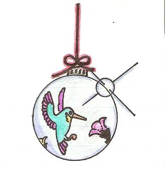 Ornament by Michelle Kinzler