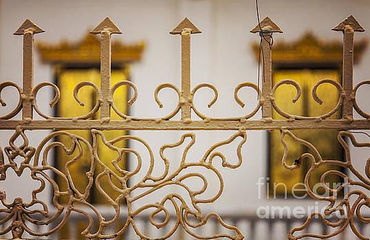 Sophie McAulay - Ornate iron fencing