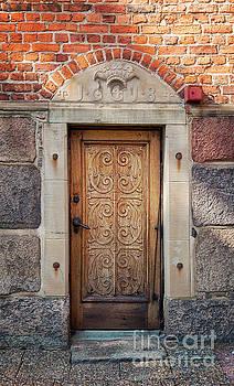 Sophie McAulay - Ornate old door