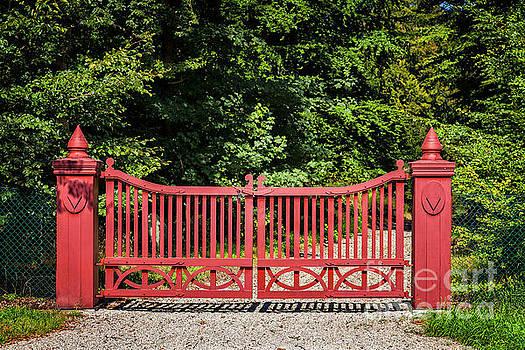 Sophie McAulay - Ornate red gate