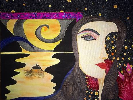 Ornery Traveler by Tejsweena Krishan