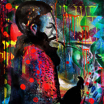 Ornette Coleman by Miko At The Love Art Shop