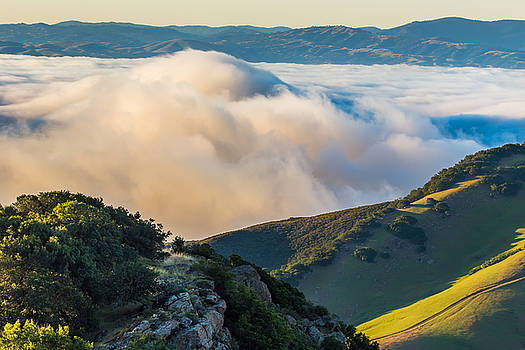 Marc Crumpler - morning low clouds and hills