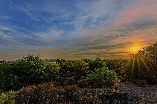 Oro Valley Sunset h21 by Mark Myhaver