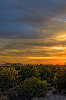 Oro Valley Sunset v38 by Mark Myhaver
