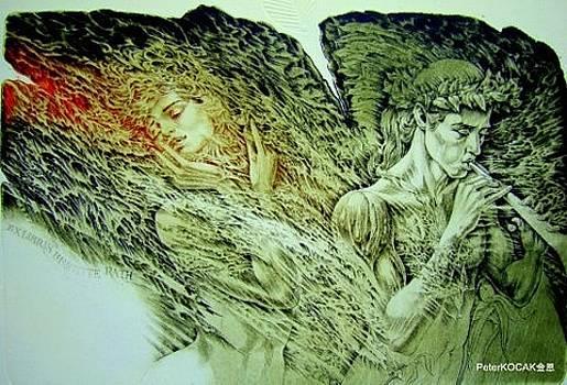 Orphesu and Eurydice by Peter Kocak