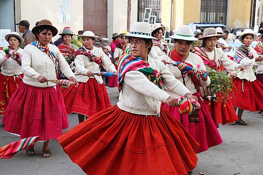 Oruro Carnival Bolivia by Kurt Williams