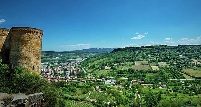 Orvieto Terni Umbria Italy by Alida Thorpe