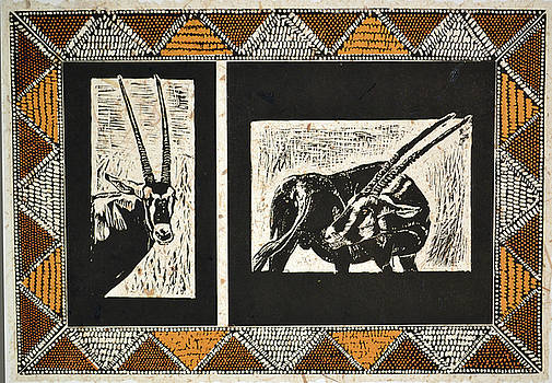 Oryx by Carol J  South