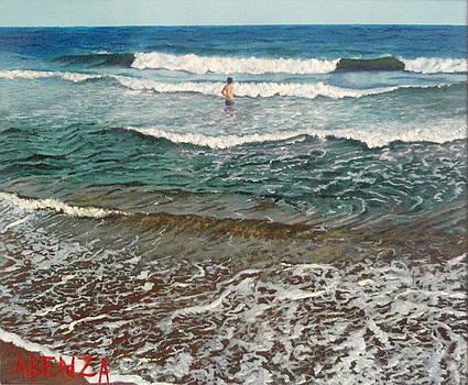 Oscar In The Beach by Juan Jose Abenza