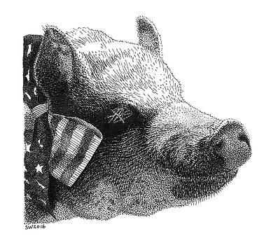 Oscar the Piggy by Scott Woyak