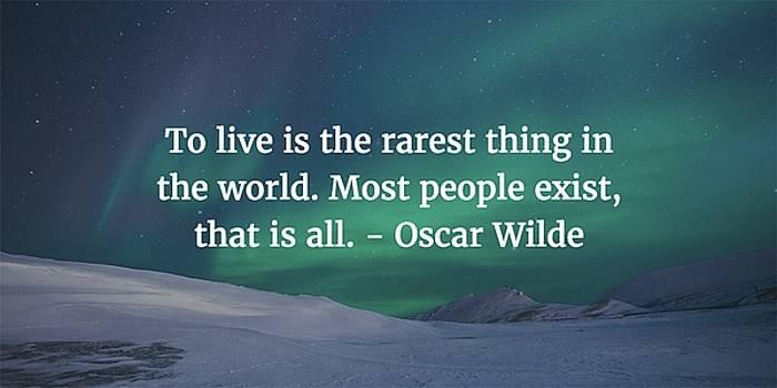 Matt Create - Oscar Wilde Quote
