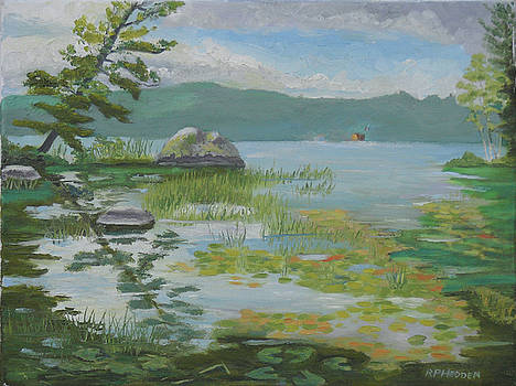 Oseetah Lake Cove by Robert P Hedden