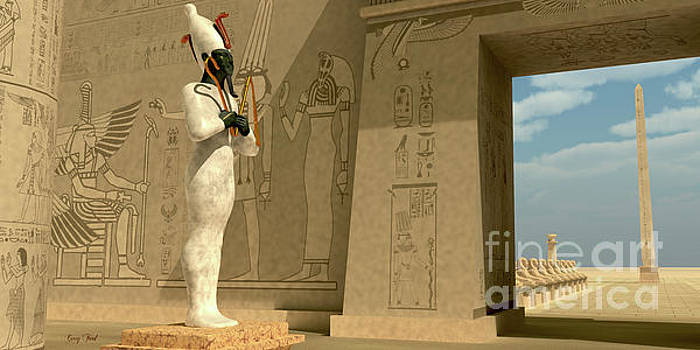 Corey Ford - Osiris Statue in Pharaoh Temple