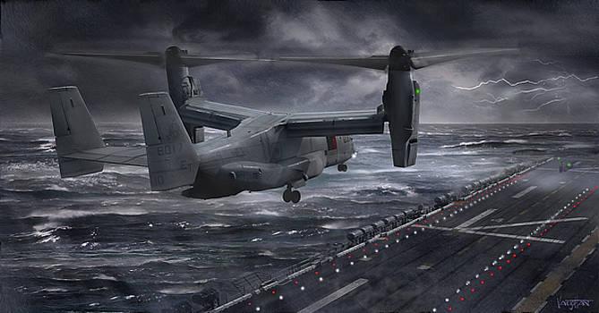 James Vaughan - Osprey Landing on Amphibious Assault Ship