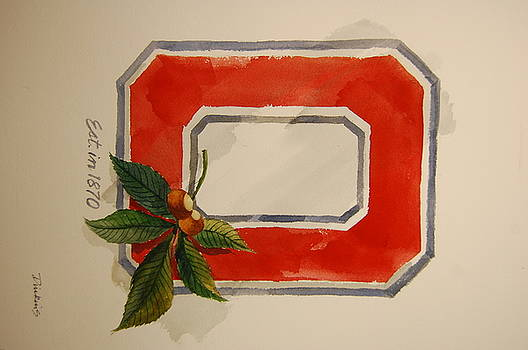 OSU Block O by Bill Dinkins