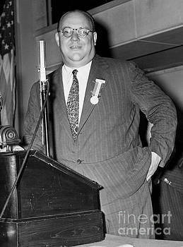 Oswald Heck, an American Lawyer and Politician and member of the New York State Assembly 1939. by Barney Stein