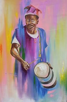 Otigba Fulani Drummer by Eziagulu Chukwunonso