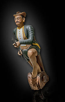 Ottoman Empire Warrior figurehead by Gary Warnimont