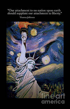Our Attachment to Liberty by Diane Woods