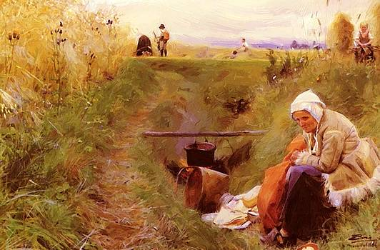 Zorn Anders - Our Daily Bread 1886