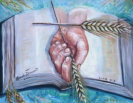 Our Daily Bread by Renee Dumont  Museum Quality Oil Paintings  Dumont