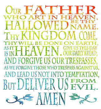 Our Father Prayer by Jenny McLaughlin