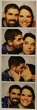Our First Photo Booth Color by David Paul Murray