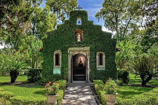 Our Lady of Le Leche Chapel St. Augustine Florida   -   ladyoflelechechapel122921 by Frank J Benz