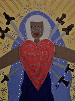 Our Lady of Sorrows by Angela Yarber