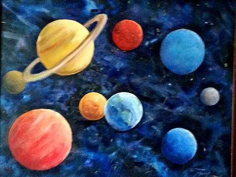 Our Universe including Pluto by Marilyn Bousquet