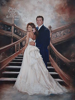 Our Wedding Picture by Celeste Nagy