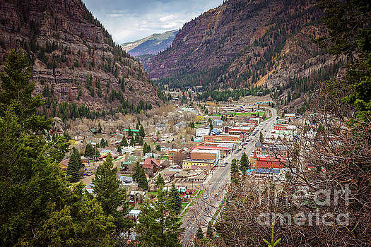 Ouray from Above by Joan McCool