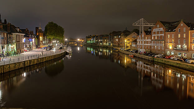 Ouse Reflection by Gemma Greaves
