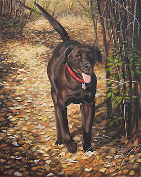 Out for a Walk #1 by Tammy  Taylor