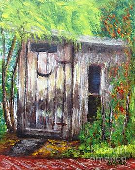Out House by Donna Muller